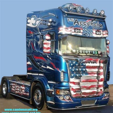 interni camion scania scania r 620 blue american griffin by f lli acconcia