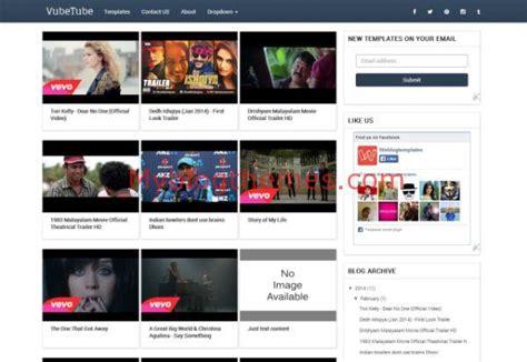blogger movie themes videostube myblogthemes