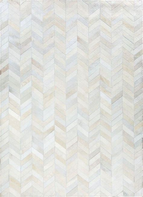 luxury modern rugs smoked chevron by mosaic rugs luxury handcrafted ivory patchwork cowhide rug modern