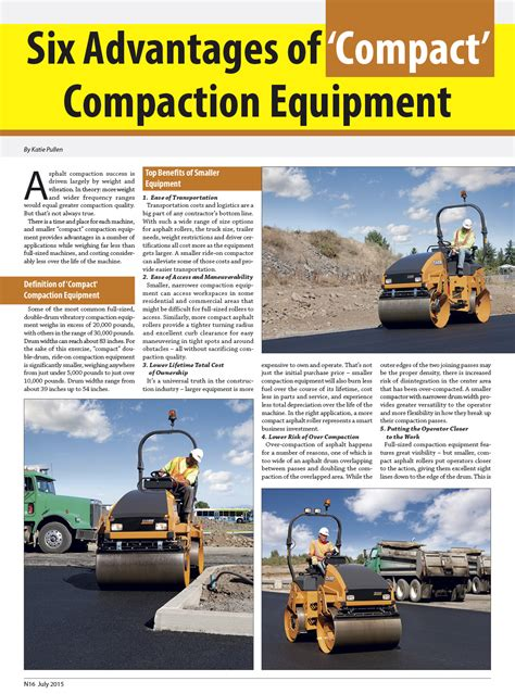 compaction equipment site  construction zone