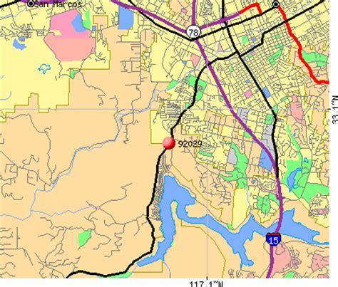zip code map escondido ca escondido zip code map zip code map