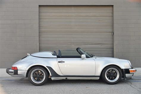 1989 porsche speedster for sale 1989 porsche 911 speedster for sale