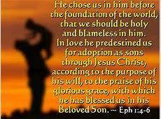 Songs & Scriptures Ephesians 1:11