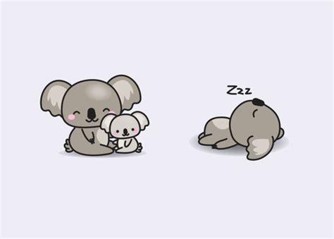 imagenes kawaii de koalas premium vector clipart kawaii koala cute koalas