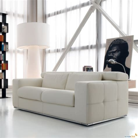 divani bianchi divani bianchi pelle ecopelle o tessuto arredamento