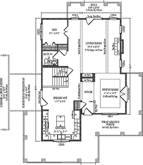 evergreen by wardcraft homes two story floorplan