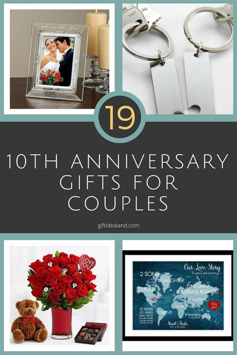 10 year wedding anniversary gift ideas for 26 great 10th wedding anniversary gifts for couples