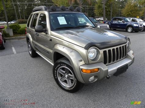 jeep renegade 2004 2004 jeep liberty renegade 4x4 in light khaki metallic