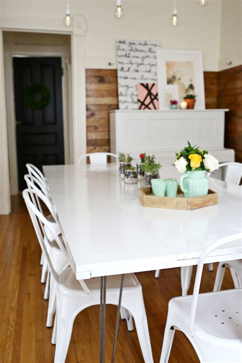Paint Dining Table Tips For Painting A Dining Room Table A Beautiful Mess