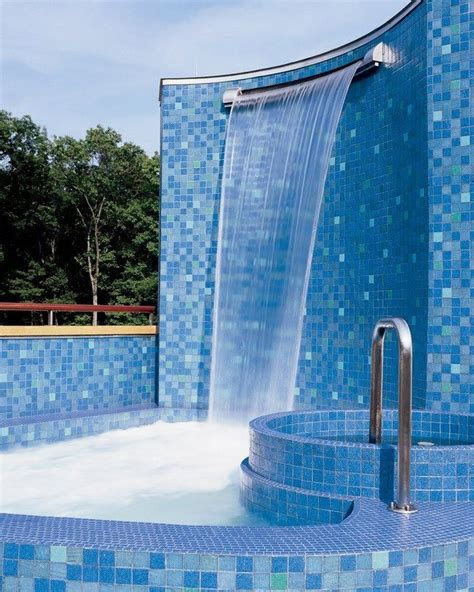 pool waterfall ideas   recreate   backyard