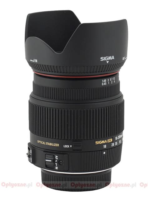 Sigma Lensa 18 200mm F 3 5 6 3 Dc Macro Os Hsm C For Nikon sigma 18 200 mm f 3 5 6 3 ii dc os hsm review pictures and parameters lenstip