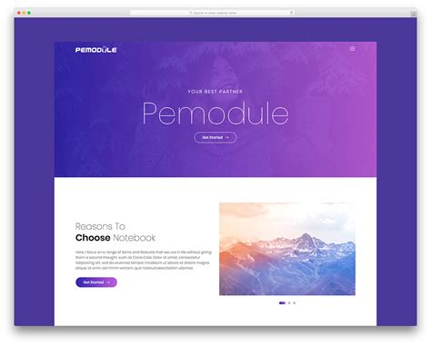 Pemodule Free Website Template For Photography Portfolio Colorlib Colorlib Free Templates