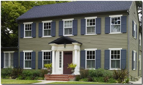 colonial exterior colors studio design gallery best design