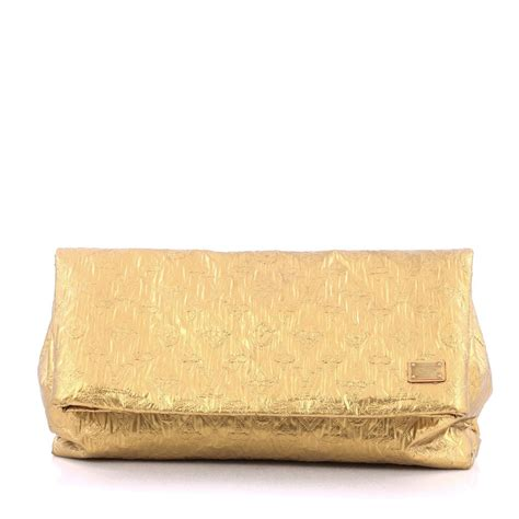 Versace Metallic Jacquard Snap Out Of It Bag by Buy Louis Vuitton Limelight Clutch Metallic Jacquard
