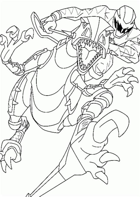 power rangers dino thunder printable coloring pages power rangers dino thunder rides a robot coloring page