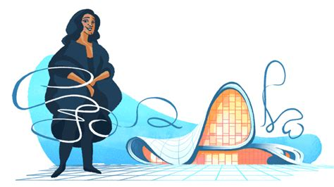 doodle center zaha hadid doodle honors to win the