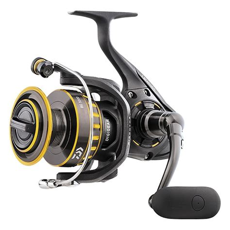 Reel Pancing Next Flash 3000 Black Aluminium Spool 5 Bearing daiwa bg 3000 spinning reel 200 yds 10