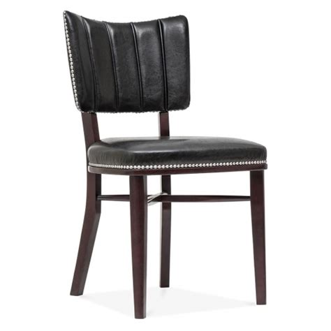 Winston Chair by Cult Living Winston Chair In Black With Silver Studs Cult Uk