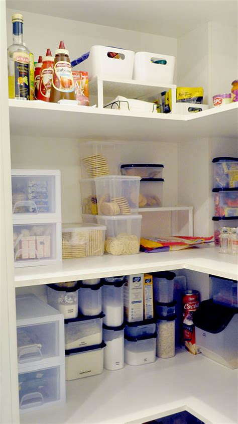 creating an organised pantry on a budget the organised