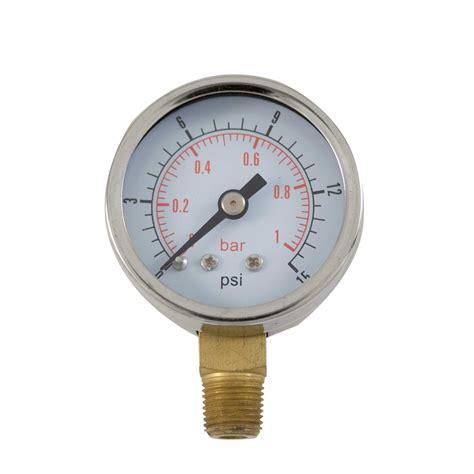 potable water pressure gauge fse fuel pressure low pressure 0 15psi range for