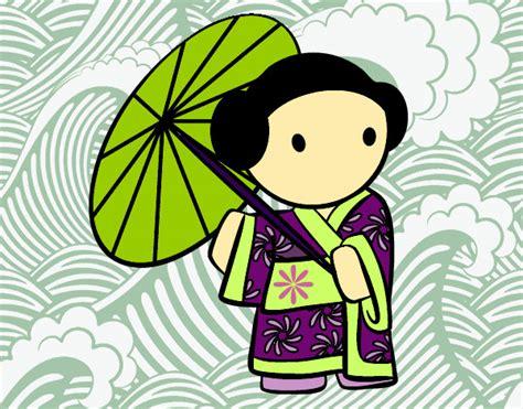 japon imagenes para colorear dibujos de geishas mas visitados para colorear dibujos net