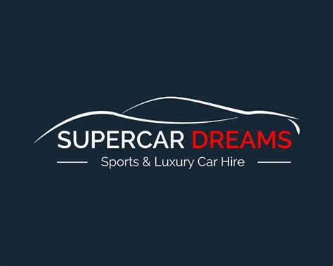 supercar logos supercar dreams logo design creativescript web design
