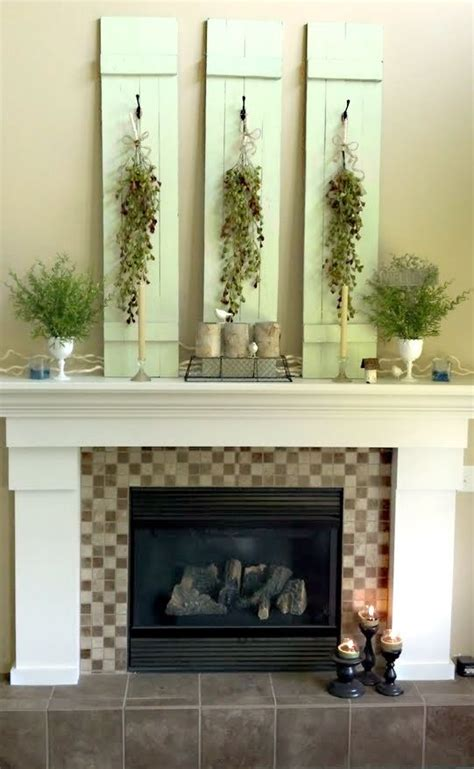 decoration nature looks summer how to make a fireplace