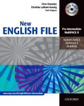 New English File Pre Intermediate Pack B Oxford