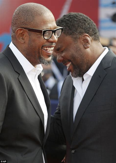 forest whitaker and his brother forest whitaker can t stop smiling with daughter sonnet