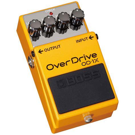 od 1x overdrive 171 guitar effect