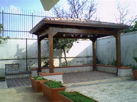 costruzione gazebo in legno pergolati e gazebo coperture edili e tetti napoli pa