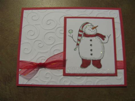 christmas card ideas stin up karen s cards ideas
