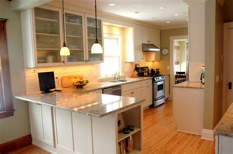 Small C Shaped Kitchen Designs by An Open Kitchen Dining Room Design In A Traditional Home