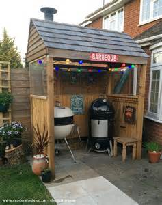 Man Cave Backyard Bbq Shack Unexpected From Backyard Patio Owned By Stuart