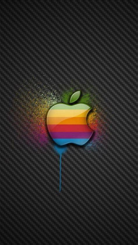 Colorful Apple LOGO 02 Galaxy S6 Wallpaper   Galaxy S6