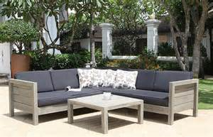 buy the lodge garden sofa set made from solid wood and get