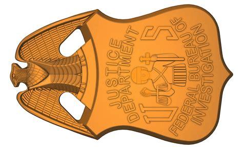 fbi badge template x files fbi badge freelance cad designer project