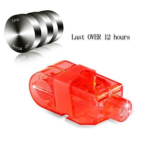 1 Pak Isi 4 Pcs Led Finger Laser Beam Light Magic Lu Disco Souven cade bright finger flashlights led finger ls