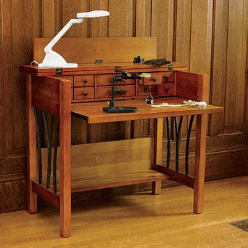 fly tying bench designs fly tying table plans