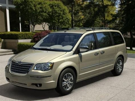 2008 town and country chrysler 2008 chrysler town country overview cargurus