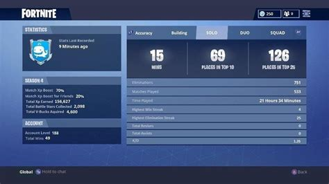 fortnite stats tracker concept a more in depth stats page would eliminate the