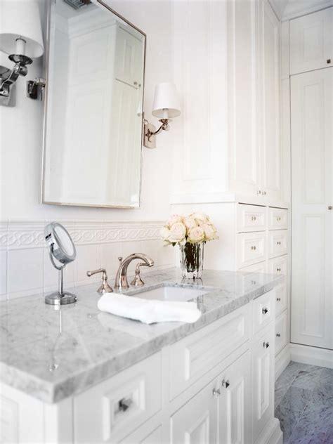 white carrara marble top vanity design decor photos pictures ideas inspiration paint