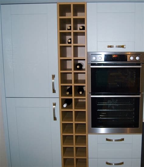 kitchen cabinets with wine rack kitchen wine rack marceladick com