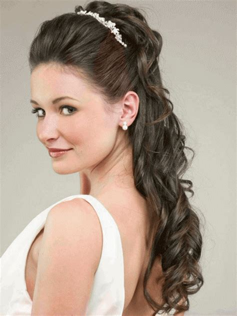 wedding day hairstyles for long