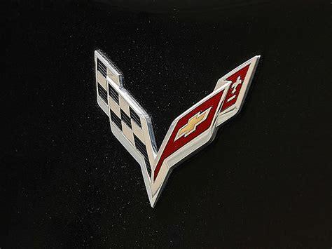 corvette logo history image gallery logo