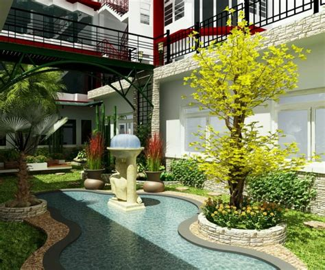 garden home interiors حدائق منزلية صغيرة بالصور المرسال