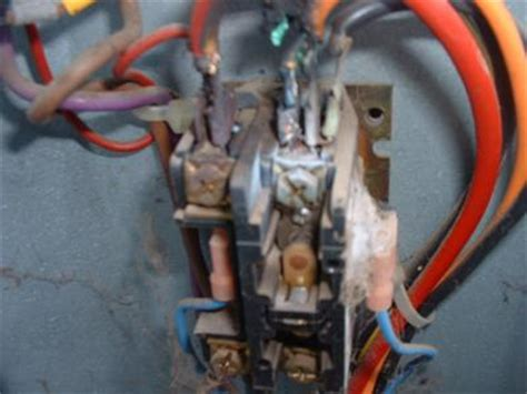 ac capacitor burnt wire is my york central ac need replacing