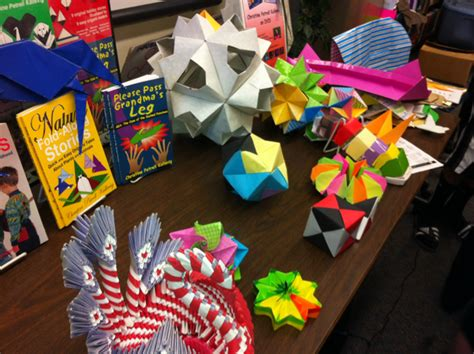 Origami Stories - diary of a 6th grade origami stories
