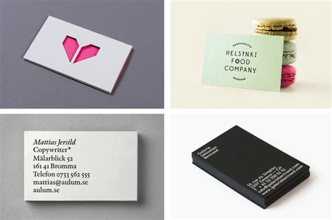 The Best Business Cards Of 2014