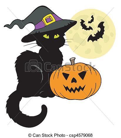 imagenes halloween gato vector de halloween gato silueta luna halloween gato